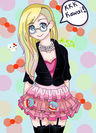 avril lavigne fanart kitty alienart09 deviantart