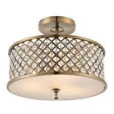 hudson tripod floor l endon hudson 3 light ceiling light brass brass ceiling lights