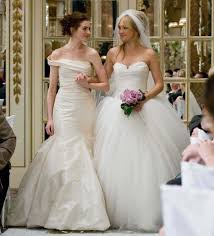 runaway bride wedding dress and other classical movie wedding