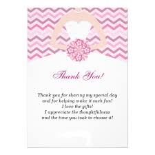 for bridal shower exle designing bridal shower thank you cards wording best ideas