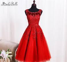 online shop modabelle robe de soiree courte 2017 red prom dress
