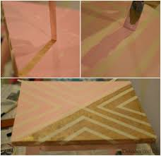 Color Me Pretty Paint The by Diy Gold Geometric Tables Delicious And Diy
