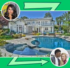 celebrity home swap brad pitt to bieber to kardashian celebrity