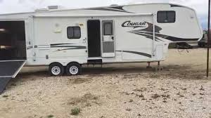 2008 keystone cougar toy hauler for sale 23 000 youtube