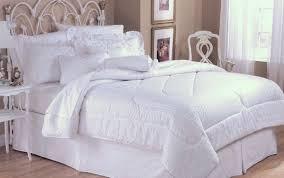 Bed In A Bag King Comforter Sets 4pc Bed In A Bag Eyelet White Comforter Set Blowoutbedding Com