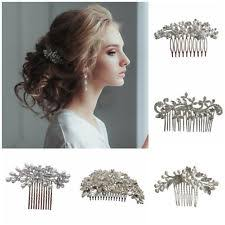 hair pieces for wedding wedding and formal hair combs ebay
