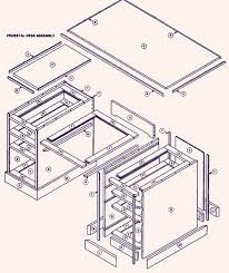 enchanting computer desk plans pdf plans computer desk furniture