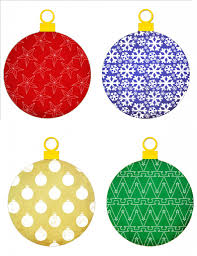 tree ornament patterns lights decoration