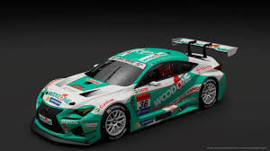 lexus racing car woodone lexus rc f livery download tags woodone supergt