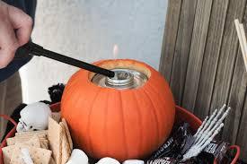 over the top halloween decorations diy spooky s u0027mores kelmin products inc