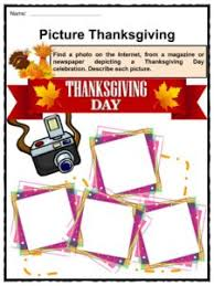 thanksgiving facts worksheets information history for