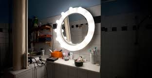 bathroom mirror pick and place