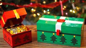 lego christmas chest minecraft youtube