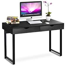 Modern Desks With Drawers Tribesigns Computer Desk Modern Stylish 47 Home