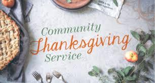 interfaith community thanksgiving service