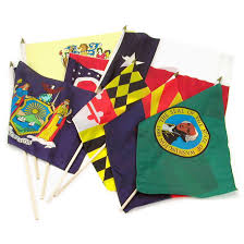 All The State Flags Set Of 50 State Flags 12x18 Inch