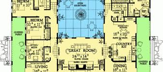 mediterranean house plans with courtyards southwest home designs 4 bedroom 4 bathroom home plan homepw76619