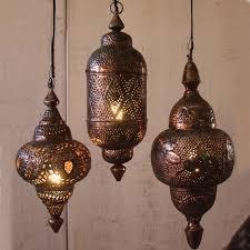 Metal Pendant Light Fixtures Moroccan Pendant Lights Quaqua Me