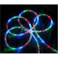 18 multi color led indoor outdoor rope lights walmart