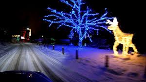 niagara falls christmas lights winter festival of lights niagara falls christmas morning 2017 4k