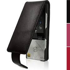 Htc Wildfire Cases Ebay by Igadgitz Leather Flip Case Cover For Sony Walkman Nwz A15 Nwz A17