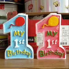 aliexpress com buy happy birthday art candle decoration my 1st