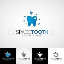Dental Hygienist Business Cards Creative Dental Logo Template Teethcare Icon Set Dentist Clinic