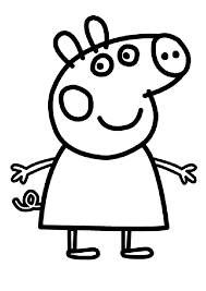 peppa pig coloring pages coloring pages design ideas