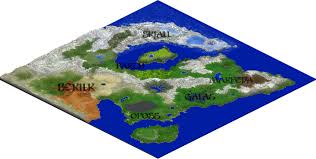 Mimecraft Maps Alerak Power Of Nature 8000 X 8000 Special Multiple Biomes Map