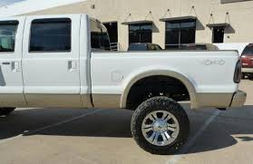 2009 ford f250 lifted ford duty lift kit tire size exles blue oval trucks