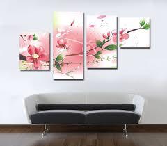 living room canvas custom canvas prints pink color painting living room atlanta