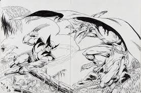 wolverine vs sauron in joe rubinstein u0027s recreations comic art