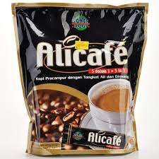 Kopi Tongkat Ali Ginseng Coffee ali cafe 5 in 1 premix with tongkat ali coffee and ginseng 20 s x 30g