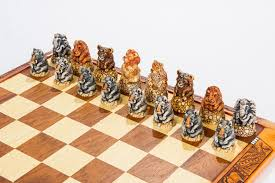 Unique Chess Pieces Fat Five And Friends Chess Set Kumbula Shop