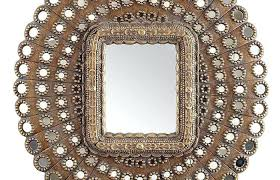 bathroom mirrors pier one wall mirrors pier one scroll mirror golden medallions round red