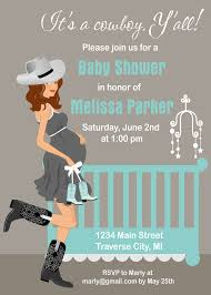 cowboy baby shower invitations theruntime com