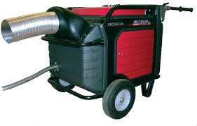 enclosure exhaust for honda generators