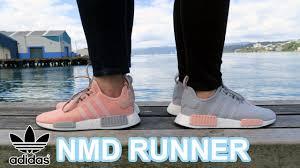 Adidas Nmd Runner Womens by Adidas Nmd Runner Vapour Pink Light Onix U0026 Clear Onix Light Onix