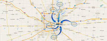 Map Indianapolis Car Dealer In Indianapolis In Cars For Sale Eastgate Chrysler
