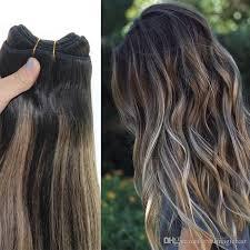 weave extensions human hair weave ombre dye color hair weft bundle