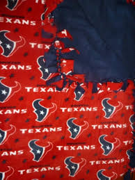 themed blankets houston texans themed fleece tie blanket nfl by blanketsunlimited
