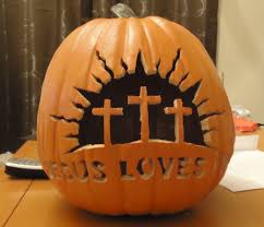Christian Halloween Craft Snips N Snails Jesus Loves You Jack O Lantern