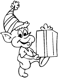 elf printable coloring pages coloring
