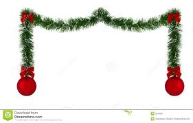 christmas decoration pictures christmas decoration border stock illustration illustration of