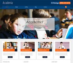 education website sample example template college websites