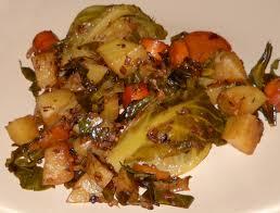 cuisiner du choux vert chou braisé végétarien végécarib