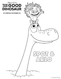 good dinosaur colouring pages disney coloring sheets free