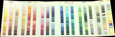 how to use pantone colors for embroidery u0026 screen printing