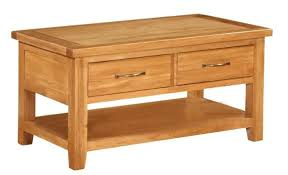 Coffee Tables With Shelves Oak Coffee Table Oak Coffee Table With Drawers Oak Coffee Table