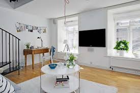 Shabby Chic Apartments by Bright Wall Paint Shabby Chic Apartment Decor Interior In